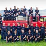 Photos pour le calendrier des pompiers de Frangy et Musièges 74