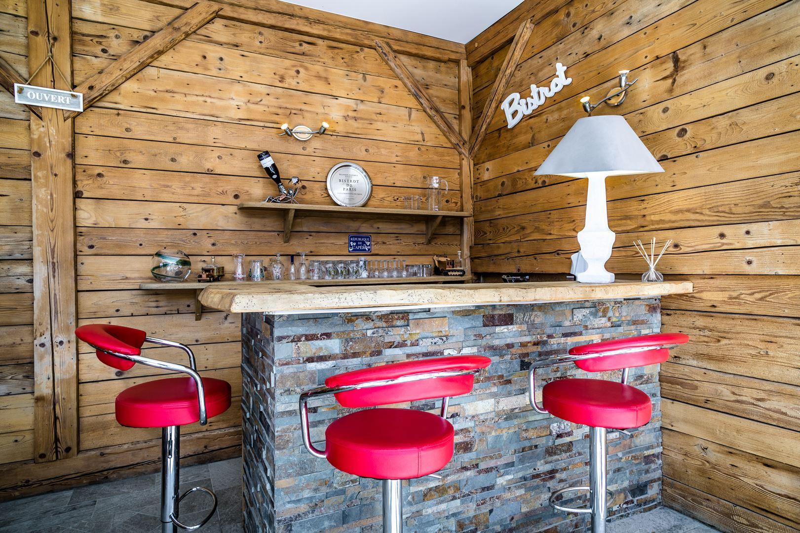 Photo immobilière - Bar extérieur - Maison - Copponex 74
