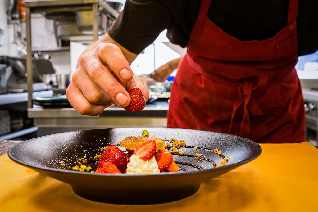 Photos corporate pour le restaurant La clef des champs à Saint-Blaise 74
